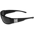 Michigan Wolverines Etched Chrome Wrap Sunglasses