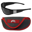 Ohio St. Buckeyes Chrome Wrap Sunglasses and Sports Case