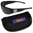 Florida Gators Chrome Wrap Sunglasses and Zippered Carrying Case