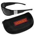 Virginia Tech Hokies Chrome Wrap Sunglasses and Zippered Carrying Case