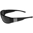 Miami Hurricanes Etched Chrome Wrap Sunglasses