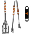 Texas Longhorns 2 pc BBQ Set and Bottle Opener