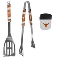 Texas Longhorns 2 pc BBQ Set and Chip Clip