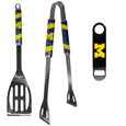 Michigan Wolverines 2 pc BBQ Set and Bottle Opener