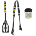 Michigan Wolverines 2 pc BBQ Set and Chip Clip