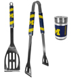 Michigan Wolverines 2pc BBQ Set with Season Shaker