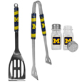 Michigan Wolverines 2pc BBQ Set with Salt & Pepper Shakers