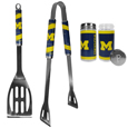 Michigan Wolverines 2pc BBQ Set with Tailgate Salt & Pepper Shakers