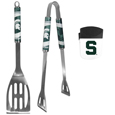 Michigan St. Spartans 2 pc BBQ Set and Chip Clip