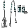 Michigan St. Spartans 2pc BBQ Set with Tailgate Salt & Pepper Shakers