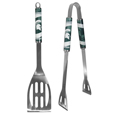 Michigan St. Spartans 2 pc Steel BBQ Tool Set