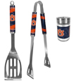 Auburn Tigers 2pc BBQ Set with Season Shaker