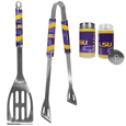 LSU Tigers 2pc BBQ Set with Tailgate Salt & Pepper Shakers