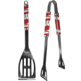 Wisconsin Badgers 2 pc Steel BBQ Tool Set