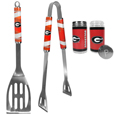 Georgia Bulldogs 2pc BBQ Set with Tailgate Salt & Pepper Shakers