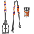 Clemson Tigers 2pc BBQ Set with Season Shaker