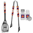 Clemson Tigers 2pc BBQ Set with Salt & Pepper Shakers