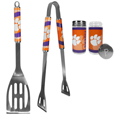 Clemson Tigers 2pc BBQ Set with Tailgate Salt & Pepper Shakers