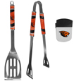 Oregon St. Beavers 2 pc BBQ Set and Chip Clip
