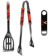 Virginia Cavaliers 2 pc BBQ Set and Bottle Opener