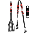 N. Carolina St. Wolfpack 2 pc BBQ Set and Bottle Opener