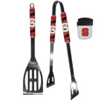 N. Carolina St. Wolfpack 2 pc BBQ Set and Chip Clip