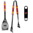 Louisville Cardinals 2 pc BBQ Set and Bottle Opener