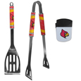 Louisville Cardinals 2 pc BBQ Set and Chip Clip