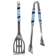 N. Carolina Tar Heels 2 pc Steel BBQ Tool Set