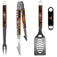 Texas Longhorns 3 pc BBQ Set and Bottle Opener
