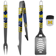 Michigan Wolverines 3 pc BBQ Set and Chip Clip