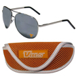 Tennessee Volunteers Aviator Sunglasses and Sports Case