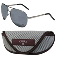 Texas A & M Aggies Aviator Sunglasses and Sports Case