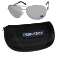 Penn St. Nittany Lions Aviator Sunglasses and Zippered Carrying Case