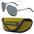 Michigan Wolverines Aviator Sunglasses and Sports Case