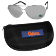 Florida Gators Aviator Sunglasses and Zippered Carrying Case
