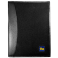 PITT Panthers Leather and Canvas Padfolio