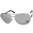 Oakland Raiders Aviator Sunglasses