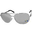 Los Angeles  Rams Aviator Sunglasses