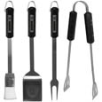 Oakland Raiders 4 pc BBQ Set