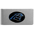 Carolina Panthers Brushed Metal Money Clip