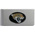 Jacksonville Jaguars Brushed Metal Money Clip