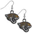 Jacksonville Jaguars Chrome Dangle Earrings