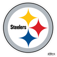 Pittsburgh Steelers 8 inch Logo Magnets