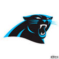 Carolina Panthers 8 inch Logo Magnets