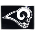 Los Angeles  Rams Hitch Cover Class II and Class III Metal Plugs