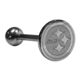 Pittsburgh Steelers Barbell Tongue Ring