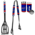 Buffalo Bills 2pc BBQ Set with Tailgate Salt & Pepper Shakers