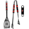 Tampa Bay Buccaneers 2 pc BBQ Set and Bottle Opener