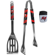 Tampa Bay Buccaneers 2 pc BBQ Set and Chip Clip